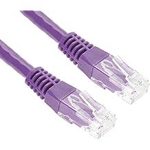 10m CAT.5e Cavo di Rete Ethernet LAN (RJ45) | 10/100/1000Mbit/s | Cavo Patch | UTP | G-Shield | Compatibile con CAT.5 / CAT.6 / CAT.7 | Modem / Router / Switch / Patchpannel / Access Point | 10 Metri - Viola