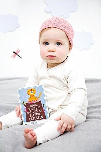 Milestone Baby Cards Erinnerungskarte - 8