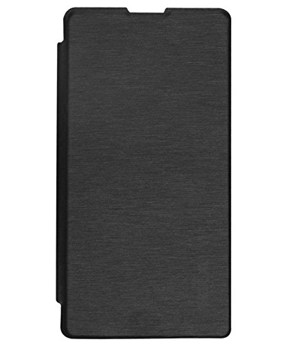 Flip Cover For Micromax A068 Bolt- Black- Teflon Bell Series