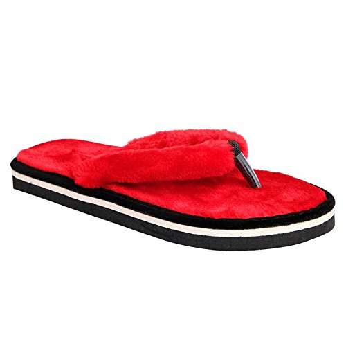 HD LADIES COTTON FUR SLIPPER WITH CHRITMAS, NEW YEAR AND WINTER SPECIAL 41Rz 2BL2SEbL
