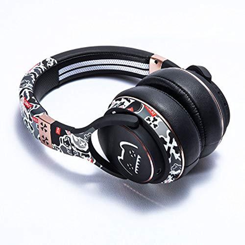 ZSH Kitty Styling Headset Bluetooth Headset echte drahtlose laufqualität für Android ios universal drahtlose Bluetooth Headset,Black -