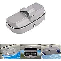 WESEEDOO Soporte para Gafas de Visera Estuche para Gafas de Sol Coche Gafas Organizador Almacenamiento de