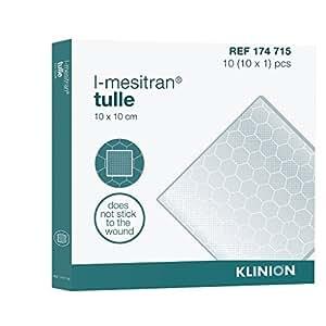 Pansement au miel KLINION L-Mesitran Tulle - 10x10 cm