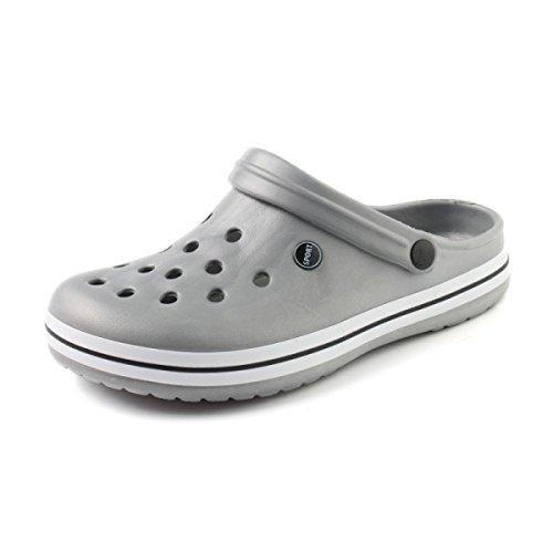 Sandalen Sandalen Männer Hausschuhe Outdoor-Watschuhe Grey