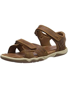 Timberland Active Casual Sandal Ftk_ek Oak Bluffs Leather 2 Strap - Sandalias Unisex bebé
