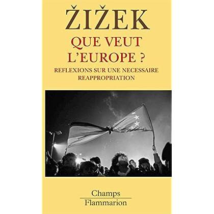 Que veut l'Europe ?: Réflexions sur une nécessaire réappropriation (Champs t. 729)