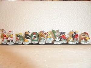 Fève des rois collection Les Looney Tunes vous souhaitent un Joyeux Noël + 1 série complète surprise offerte