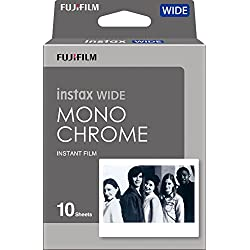 Fujifilm Instax Wide Pack de 10 Film Monochrome