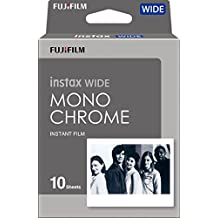 Fujifilm Instax Wide Monochrome - Película instantánea, color negro