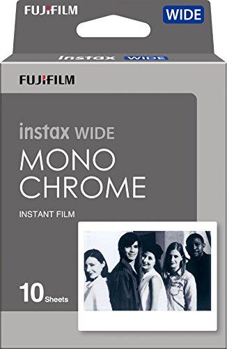 Fujifilm Instax Wide Monochrome   Película instantánea, Color Negro