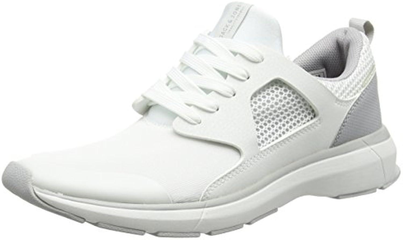 JACK  JONES Herren Hatton Sneaker  Weiß