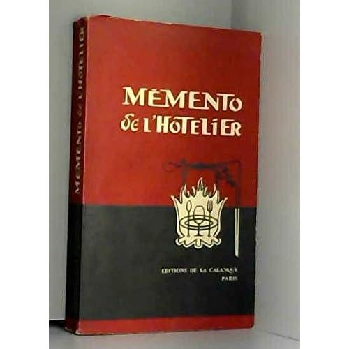 Memento de l'hotelier