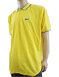 Slazenger - Polo -  - Manches courtes Homme Jaune Yellow / Blue