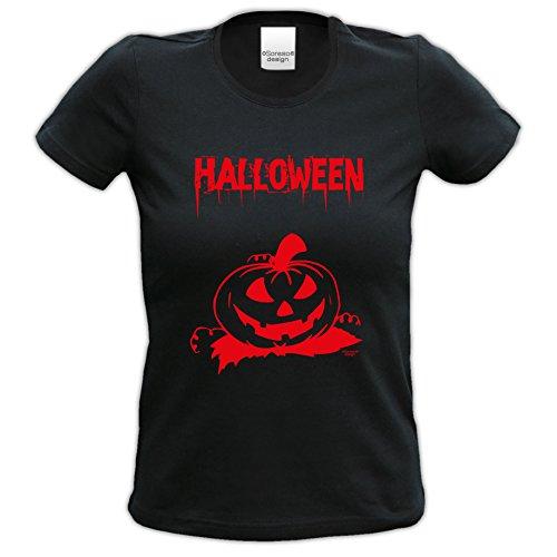 n Motiv T-Shirt Verkleidung Outfit Damen Mädchen Bekleidung tolles Geschenk Farbe: schwarz Gr: M ()