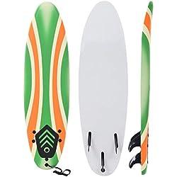 Festnight- Planche de Surf Design de Boomerang pour Débutants Adultes et Enfants 170 cm