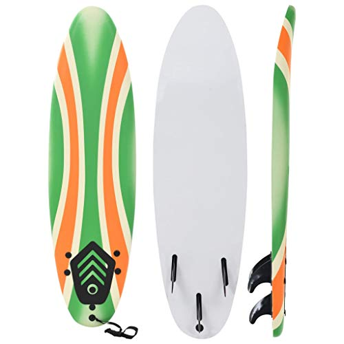 vidaXL Surfbrett 170cm 3mm Stand Up Board Surfboard Shortboard Wellenreiter
