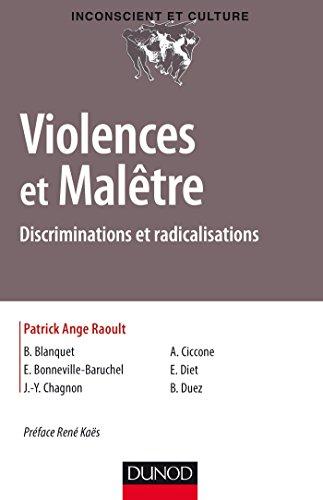 Violences et Maltre : Discriminations et radicalisations (Inconscient et Culture)
