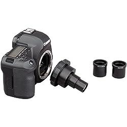 AmScope Adaptateur microscope pour appareil photo reflex mono-objectif Canon, Nikon et Olympus