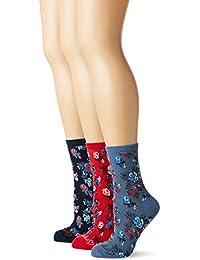Ruby Rocks Women's 3-Pack Ruby Socks