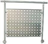 Vortec ALU Lochblech 1250 x 800 x 1,5 mm - RAL 9006 silber metallic