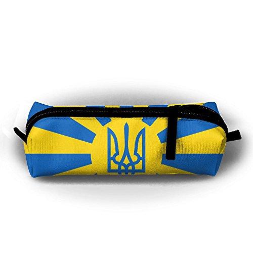 Estuche para lápices de bandera ucraniana con cremallera,...