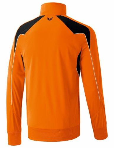 erima Kinder Trainingsjacke Shooter orange/schwarz/weiß