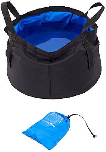 Falten Sie tragbares faltendes Bassin-tragbares im Freienversorgungs-Spielraum-Waschbecken-Tränken-Eimer-Beutel (Farbe: C), A