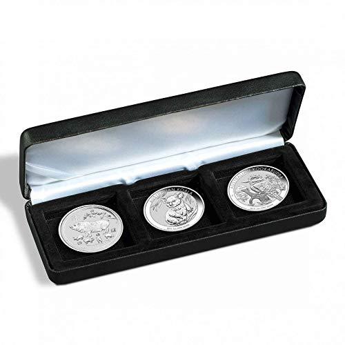 Silbermünzen im Set - verschiedene Silbermünzen im Geschenkset (3x 1oz 2019 der Perth Mint im Etui) -