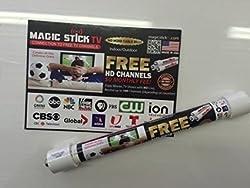 Original Magic Stick TV PVC HD Antenna W Cable Made USA