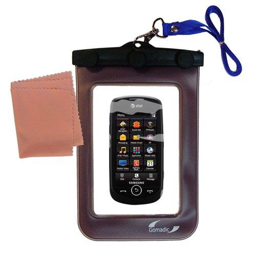 Die Abwaschbare Wasserdichte Schutztasche für die Samsung Solstice II (Solstice Wasser)