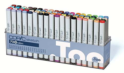 Copic Sketch - Set D - 72er Set
