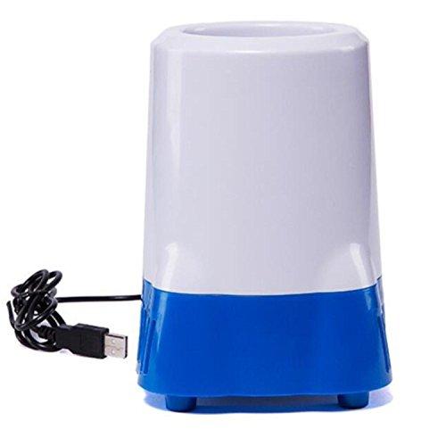 sgtrehyc Mini Auto Kühlschrank USB Kühlschrank Isolation Heizung Auto Kühlbox Heiß/Kalt mit doppeltem Verwendungszweck tragbar klein Gefrierschrank Tilt Usb