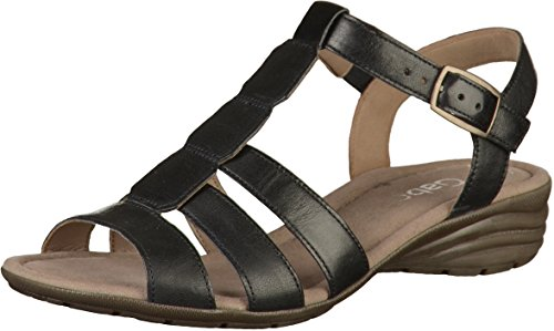 Chaussures nu-pieds Marron bleu océan