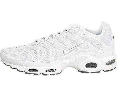 official photos 5a4cf 209e6 Nike Air Max Plus, Chaussures de Running Homme, Blanco White-Black-Cool