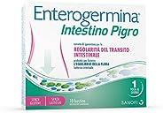 Enterogermina Intestino Pigro, integratore alimentare a base di probiotici, prebiotici ed estratti vegetali, p
