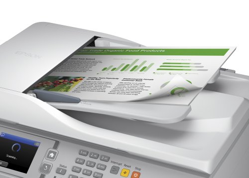 Epson WorkForce Pro WF-5620DWF 4-in-1 Multifunction Business Inkjet Printer - White