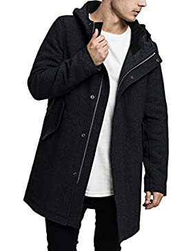 Urban Classics Hooded Structured, Parka para Hombre