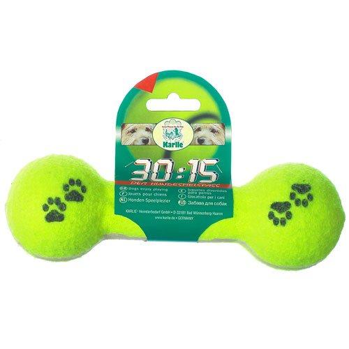 Karlie Tennis Hantel 30:15, Spielzeug für Hunde -