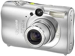Canon Digital Ixus 980 Is Digitalkamera 2 5 Zoll Silber Kamera