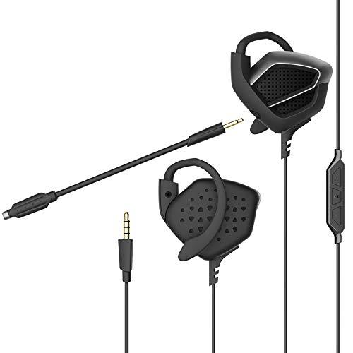 Beexcellent gm-3, cuffie gaming super confortevole con microfono (black)