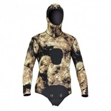 Tauchanzug Seac Jacke Skin Camo 7mmtg.XL Seac Sub