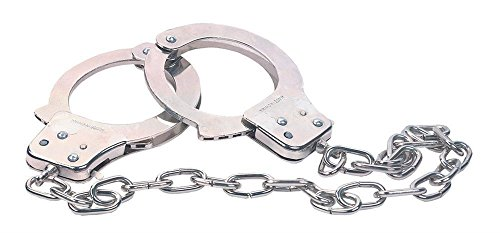Preisvergleich Produktbild Chrome Hand Cuffs Kettenlänge 48,3 cm
