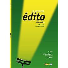 Le Nouvel Édito B1 UČ + CD + DVD: Učebnice