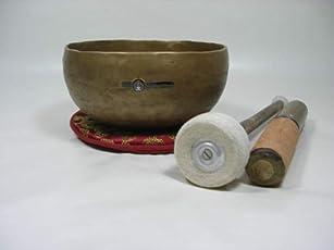 Klangschale ca. 850–950g handgefertigt 7Metalle