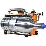 Fujiaka IZ-FOG-IZ-33 Ultra Low Volume (ULV) Operation Theater Cold Fogger/Electric Sprayer Machine-Aluminium/Stainless Steel Built-7 Litre Chemical Tank (Metal and Orange)