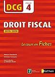 Droit fiscal - DCG 4 - Le cours en fiches par épreuve