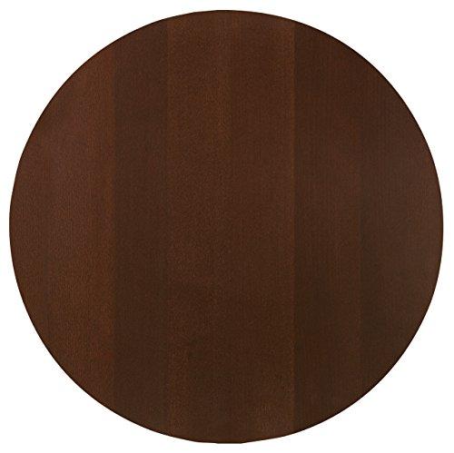 Tischplatten Sumba rund, 80cm (D), esche nussbaum gebeizt, rund, Holzwerkstoff 1 Stück