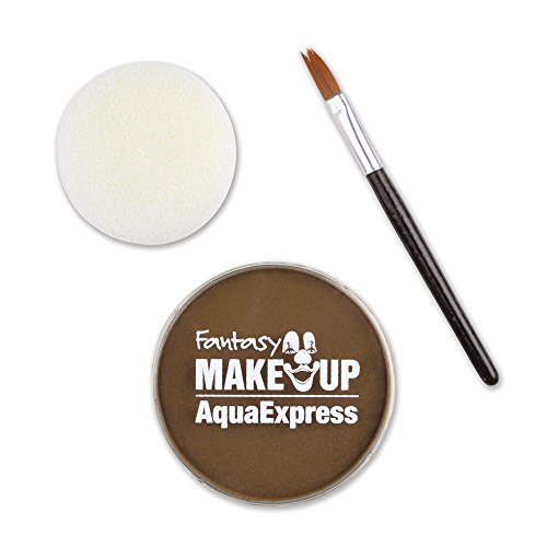 Kreul Fantasy Aqua Make Up Express Hellbraun, 1er Pack (1 x 15 g)