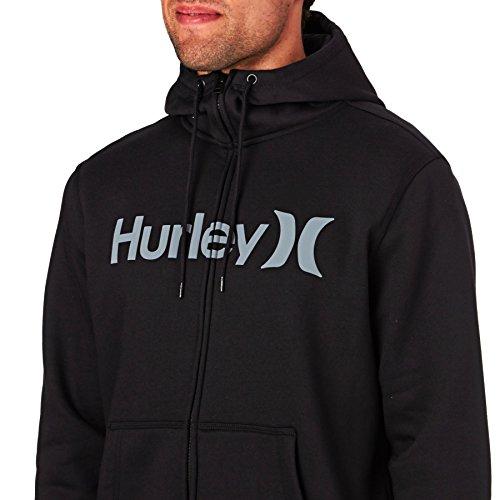 Hurley -  Felpa con cappuccio  - Uomo Black
