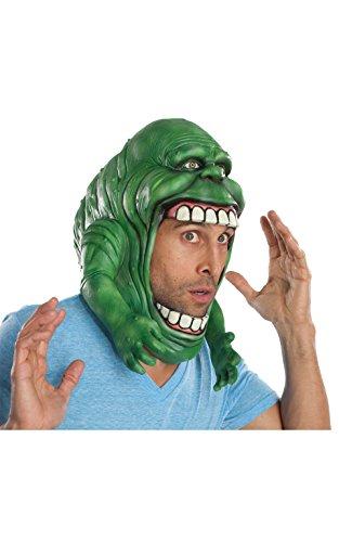 Rubie 's offizielle Ghostbusters kopfbedeckende Maske, Halloween Zubehör (Kinder Slimer Kostüm)